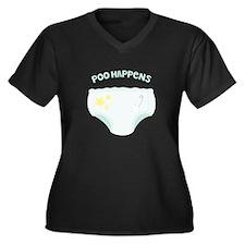 POO HAPPENS Plus Size T-Shirt