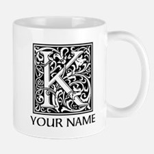 Custom Decorative Letter K Mugs