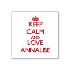 Keep Calm and Love Annalise Sticker