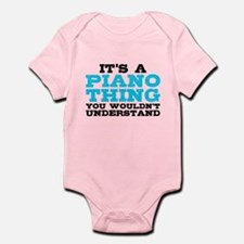 Piano Thing Infant Bodysuit