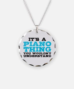 Piano Thing Necklace
