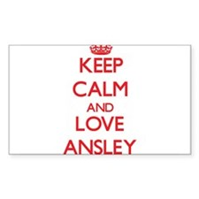Keep Calm and Love Ansley Decal