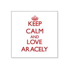 Keep Calm and Love Aracely Sticker
