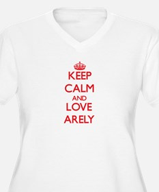 Keep Calm and Love Arely Plus Size T-Shirt