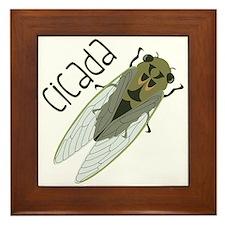 Cicada Framed Tile