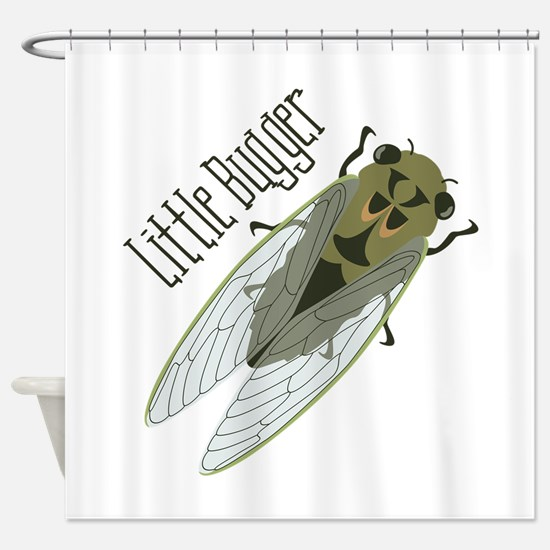 Little Bugger Shower Curtain