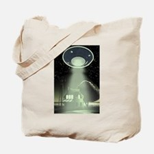 Abduction! Green Tote Bag