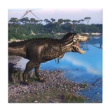 Tyrannosaurus 2 Tile Coaster