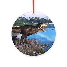 Tyrannosaurus 2 Ornament (Round)