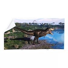 Tyrannosaurus 2 Beach Towel