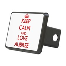 Keep Calm and Love Aubree Hitch Cover