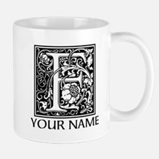 Custom Decorative Letter F Mugs