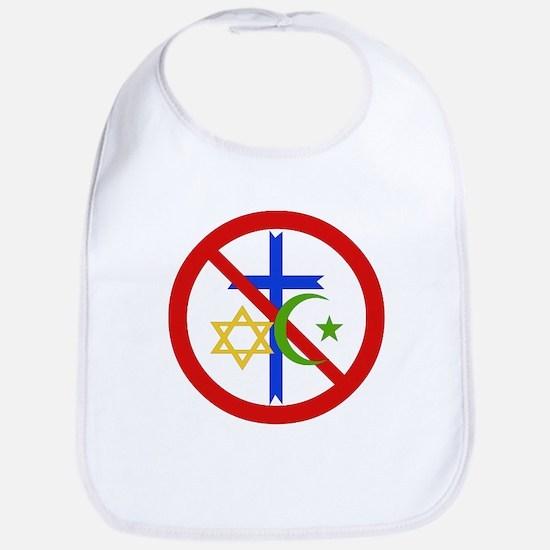 No Religion Bib