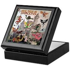 There Be Dragons Keepsake Box