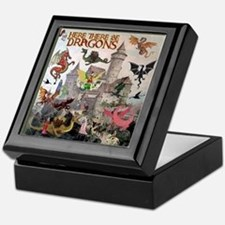 There Be Dragons Keepsake Box