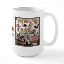 There Be Dragons MugMugs