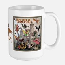 There Be Dragons MugMugs