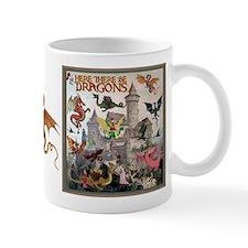 There Be Dragons Mug Mugs