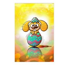 Nice bunny being born fro Postcards (Package of 8)
