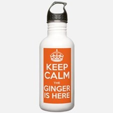 Keep Calm The Ginger I Water Bottle