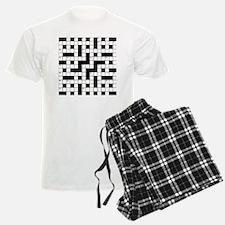 Crossword Pajamas