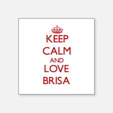 Keep Calm and Love Brisa Sticker