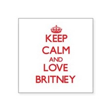 Keep Calm and Love Britney Sticker