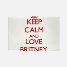 Keep Calm and Love Britney Magnets