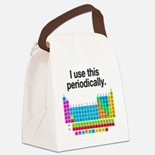 I Use This Periodically Canvas Lunch Bag