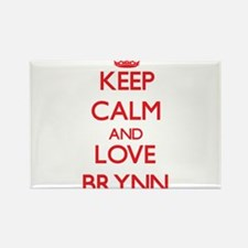 Keep Calm and Love Brynn Magnets