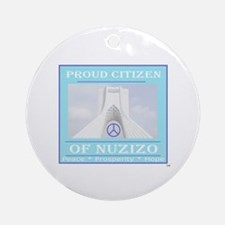 Citizen of Nuzizo Ornament (Round)