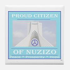 Citizen of Nuzizo Tile Coaster