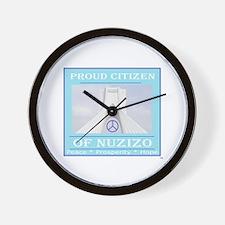 Citizen of Nuzizo Wall Clock