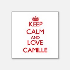 Keep Calm and Love Camille Sticker