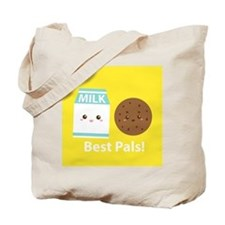 Milk-and-cookies-cafepress Tote Bag