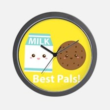Milk-and-cookies-cafepress Wall Clock
