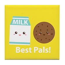 Milk-and-cookies-cafepress Tile Coaster