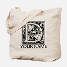Custom Decorative Letter D Tote Bag