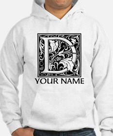 Custom Decorative Letter D Hoodie