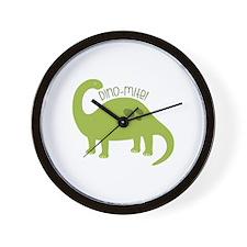 Dino-Mite! Wall Clock