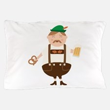 German Man Beer Germany Oktoberfest Pillow Case