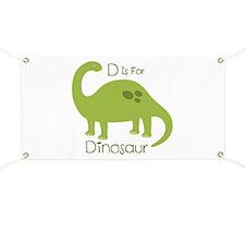 D Is For Dinosaur Banner