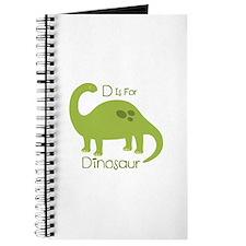 D Is For Dinosaur Journal