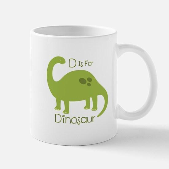 D Is For Dinosaur Mugs