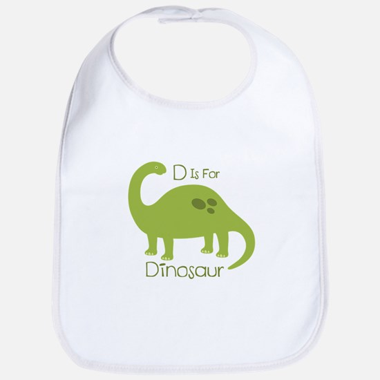 D Is For Dinosaur Bib