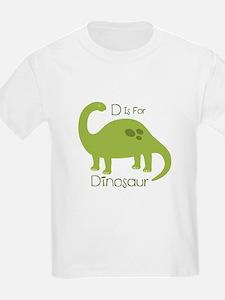 D Is For Dinosaur T-Shirt
