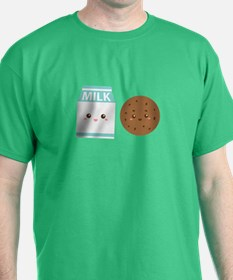Milk-and-cookie T-Shirt