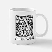 Custom Decorative Letter A Mugs