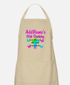 80TH CHRISTIAN Apron
