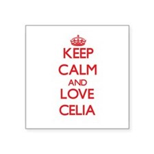 Keep Calm and Love Celia Sticker